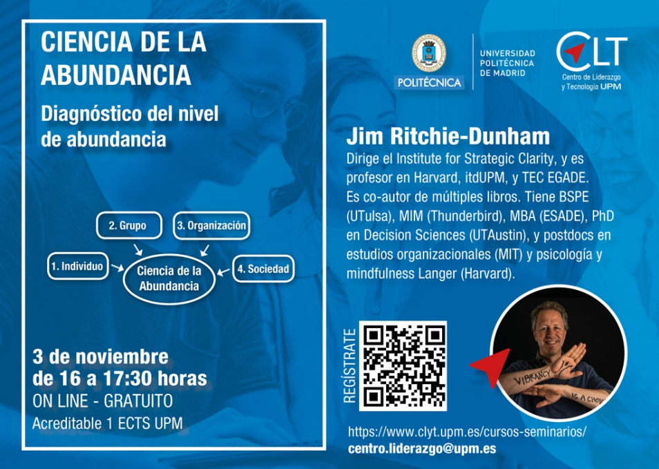 The Science of Abundance: 4 90-min talks (3 in Spanish and 1 in English)